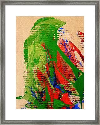 Jealous Cowboy Troubador Framed Print by Bruce Combs - REACH BEYOND