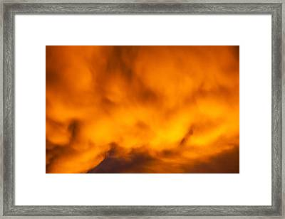 Mixed Feelings Framed Print