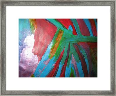Jealousy Framed Print by Paula Andrea Pyle