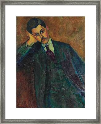 Jean Alexandre, 1909 Framed Print by Amedeo Modigliani