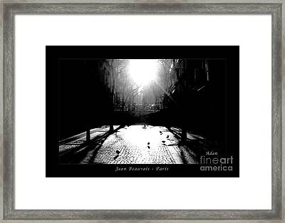 Jean Beauvais Paris Framed Print by Felipe Adan Lerma