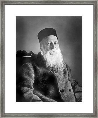 Jean Henri Dunant 1828-1910 Swiss Framed Print by Everett