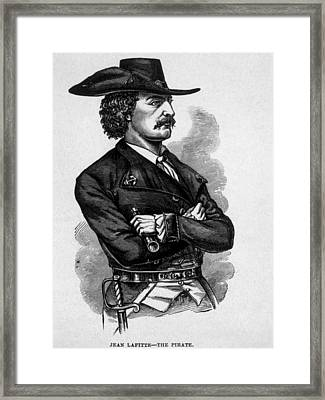 Jean Lafitte, C.1780-1826, Leader Framed Print by Everett