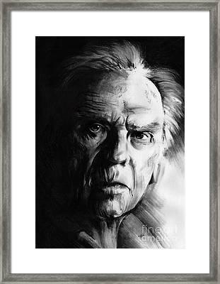 Jean-louis Trintignant Framed Print