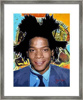 Jean-michel Basquiat 1 Framed Print by John Keaton