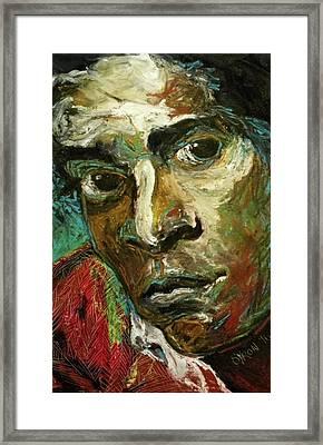 Jean-michel Basquiat Framed Print by Helen Syron