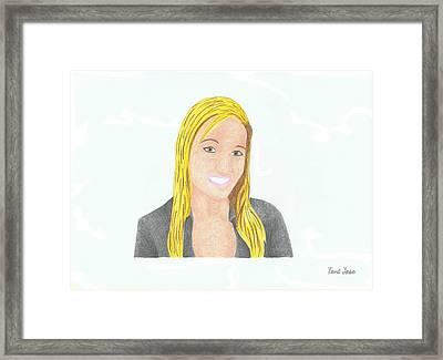 Jeana Smith - Pvp Framed Print
