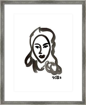 Jeanette Framed Print