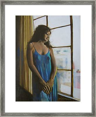 Jeanette Framed Print by Howard Stroman