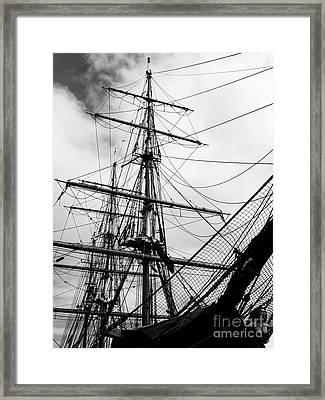 Jeanie Johnston Dublin Framed Print by Lexa Harpell