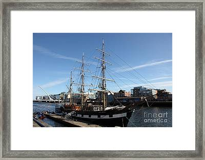 Jeanie Johnston Famine Museum Framed Print by Ros Drinkwater
