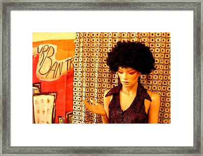 Jeanine 2 Framed Print by Jez C Self