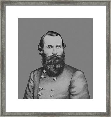 Jeb Stuart -- Confederate General Framed Print by War Is Hell Store