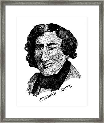 Jedediah S. Smith Framed Print