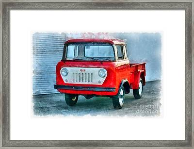 Jeep 1959 Fc150 Forward Control Pickup Framed Print