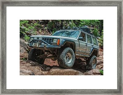 Jeep Cherokee Framed Print