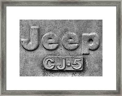 Jeep Cj-5 Framed Print