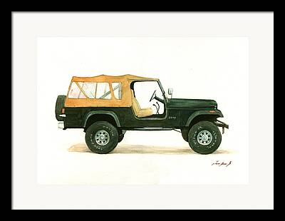 Willys Framed Prints