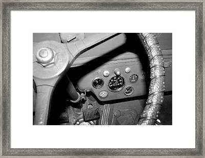 Jeep Gauges 2 Framed Print