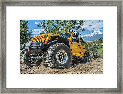 Jeep Life Framed Print