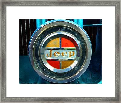 Jeep Logo 192 Framed Print