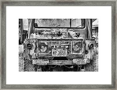 Jeep Strong Framed Print