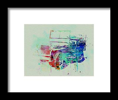 Jeep Framed Prints