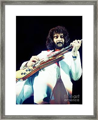 Jeff Carlisi Of 38 Special - Cow Palace San Francisco 3-15-80 Framed Print