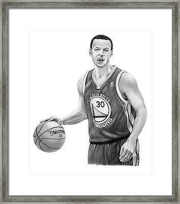 Stephen Curry Framed Print