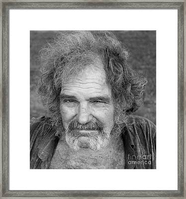Jeff Friend Of Marv Framed Print