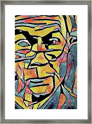 Jeff Sessions Framed Print by Michael Volpicelli