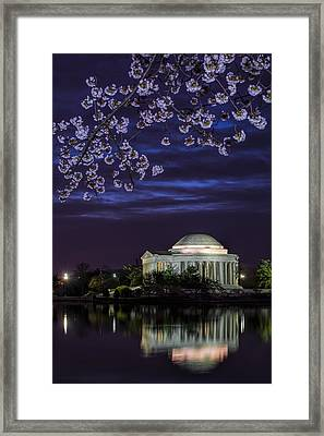 Jefferson Cherry Sunrise Framed Print