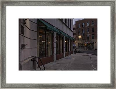 Jefferson Clinton Hotel Framed Print by Everet Regal