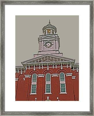 Jefferson County Courthouse Framed Print