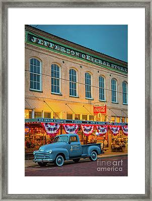 Jefferson General Store Framed Print