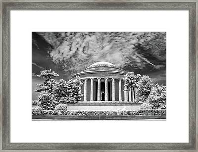 Jefferson Memorial Framed Print by Anthony Sacco