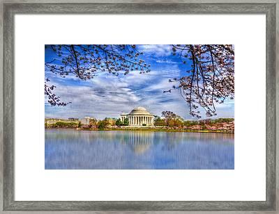 Jefferson Memorial Framed Print by Paul Wear