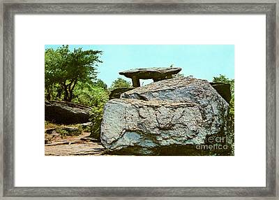 Jefferson Rock  Framed Print by Ruth  Housley