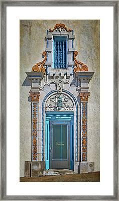 Jefferson Street - Door And Window Framed Print