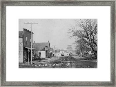 Jefferson Street Framed Print by Greg Joens