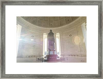 Jefferson Sunlight Framed Print
