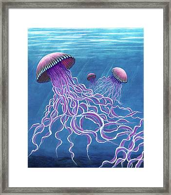 Jellies 2 Framed Print