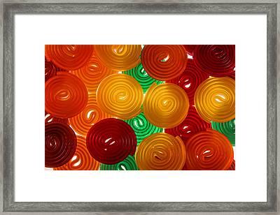Jello Framed Print