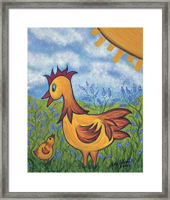Jelly Bean Framed Print by Molly Roberts
