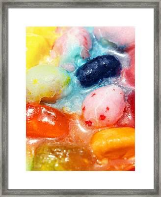 Jelly Bean Soup Framed Print