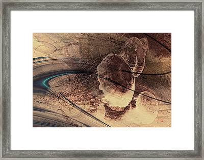 Jelly Fish 2 Framed Print