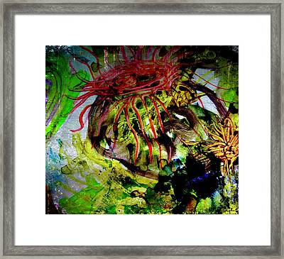 Jelly Fish 27 Framed Print