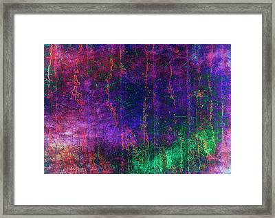Jelly Fish Framed Print by Larry Helms