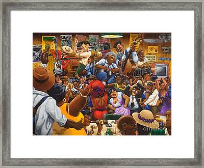 Jelly's Last Jam Framed Print by Keith Shepherd