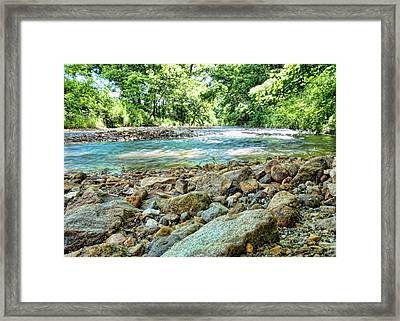 Framed Print featuring the photograph Jemerson Creek by Cricket Hackmann